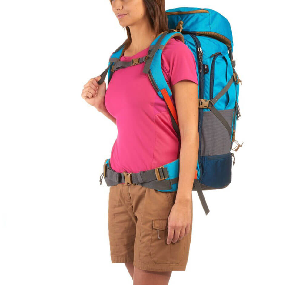 Backpacker Rucksack Forclaz