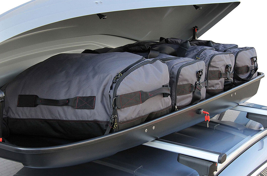 Dachbox Test Taschen