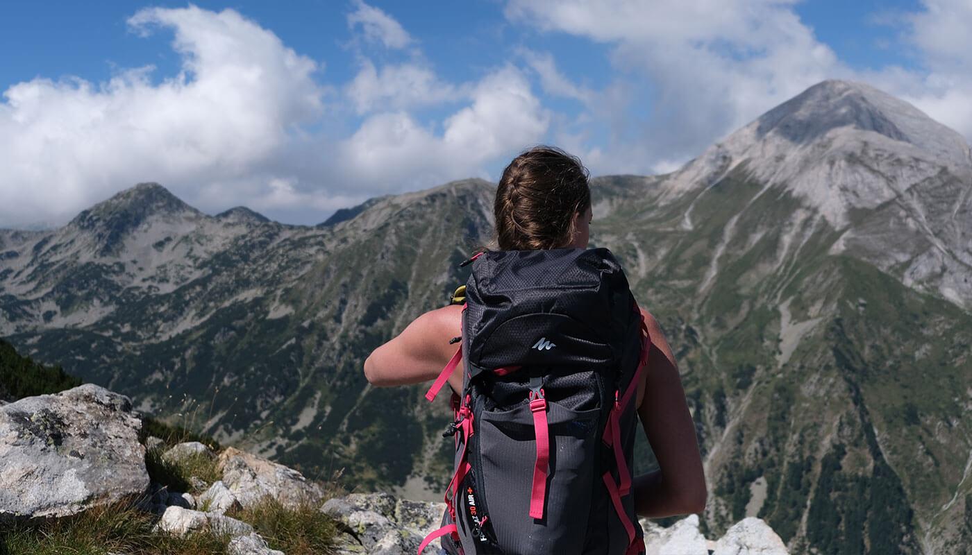 Erfahrung Quechua Wanderrucksack