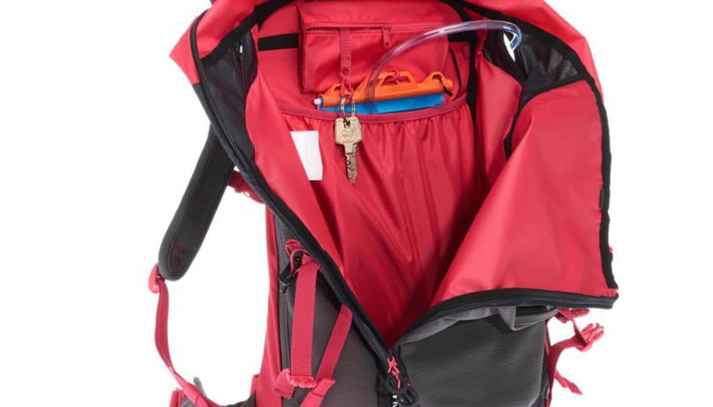 Erfahrung Quechua Wanderrucksack Ausstattung