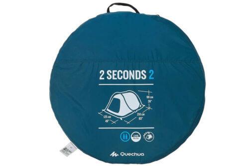 Quechua 2 Seconds Wurfzelt Test