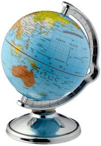 Reise Geschenk Spardose Globus