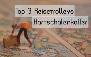 Reisetrolley Test Hartschalen