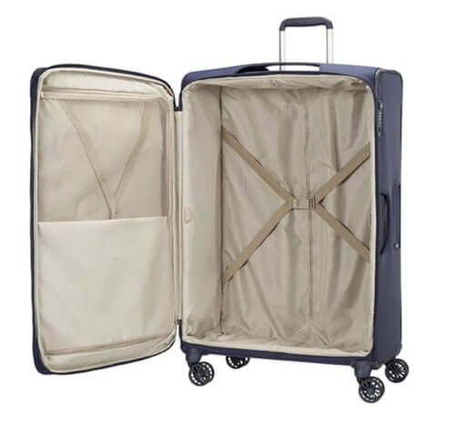 Reisetrolley Samsonite offen