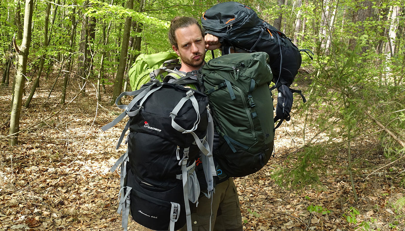 Trekking Rucksack im Vergleich Die besten Trekkingrucksäcke