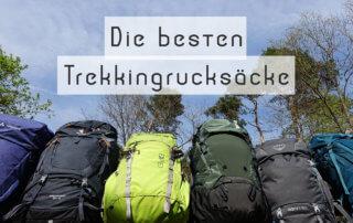 Trekkingrucksack-Test-Vergleich