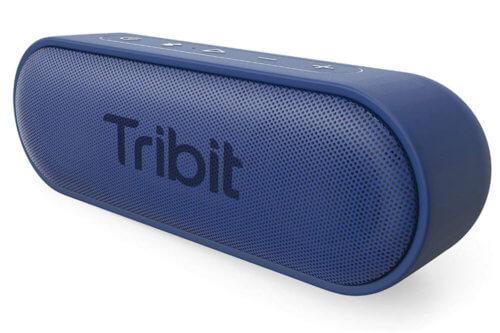 Tribit Lautsprecher Test blau