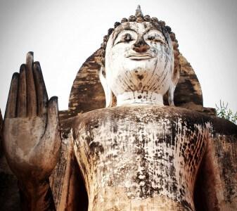 Benimmregeln Asien Buddha