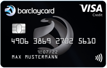 Barclaycard Visa - kostenlose Visakarte