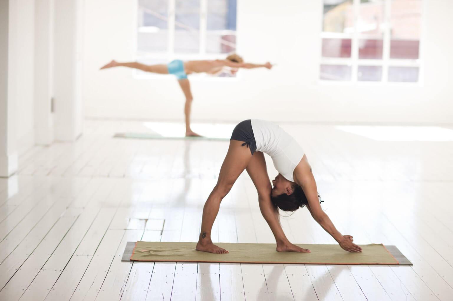 Yoga Übungen Bergsport