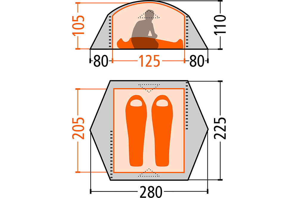msr elixir zuverl ssiges allround zelt im vergleich. Black Bedroom Furniture Sets. Home Design Ideas