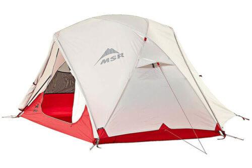 Camping Zelt Test MSR Elixir
