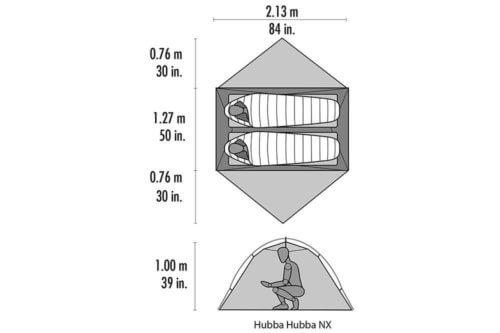 Camping Zelt Test MSR Hubba