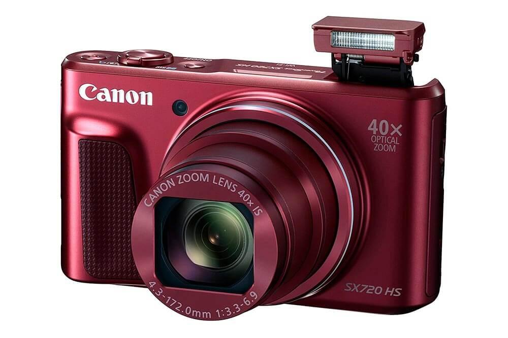 Canon PowerShot SX720 HS Flash