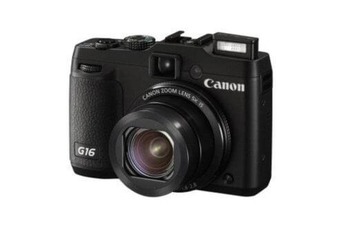 Canon PowerShot G16 Front