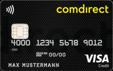 comdirect kostenlose Kreditkarte