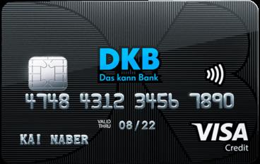 DKB kostenlose Kreditkarte
