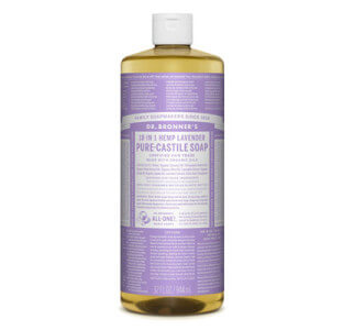 Dr Bronners Seife Test Lavendel