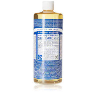 Dr Bronners Seife Test Peppermint