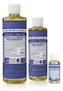 Dr Bronners Seife Test Minze