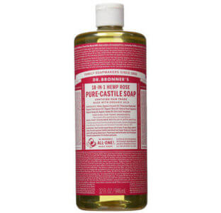 Dr Bronners Seife Test Rose