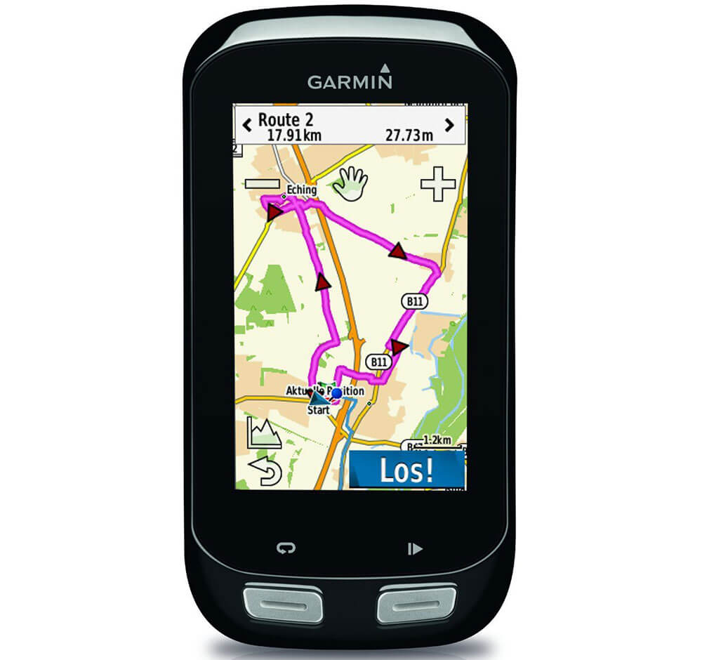 GPS Test Garmin Edge 1000