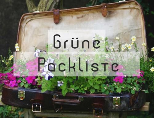 Grüne Checkliste für nachhaltigen Urlaub
