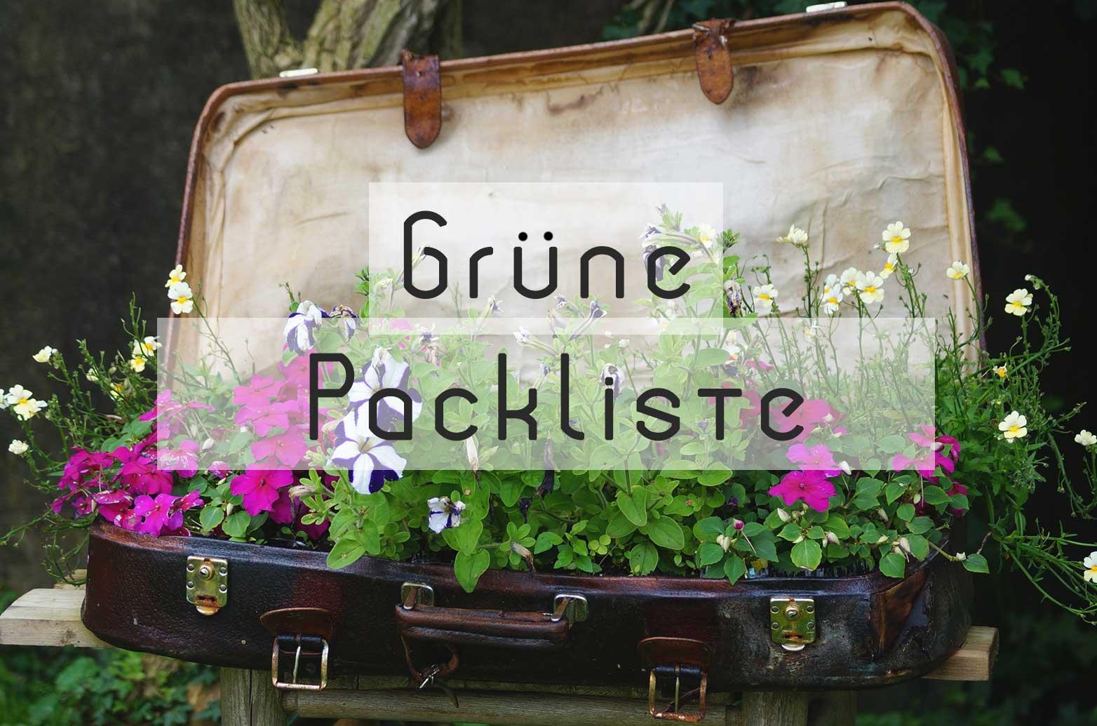 Grüne Checkliste nachhaltiger Urlaub
