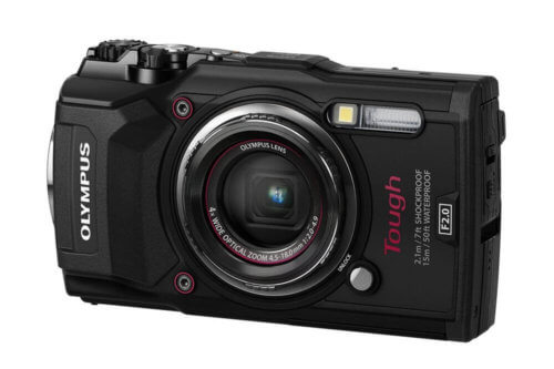Olympus TG-5 Front