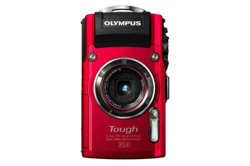 Olympus TG4 red