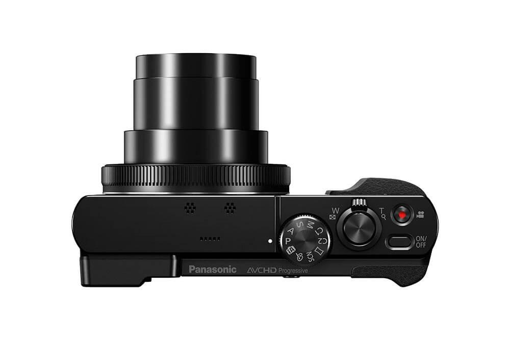 Panasonic Lumix DMC TZ71 Oben