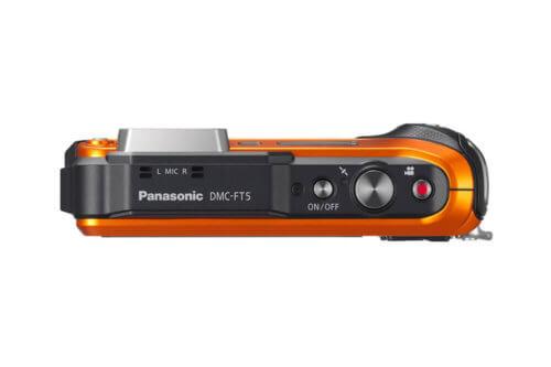 Panasonic Lumix DMC FT5 Top
