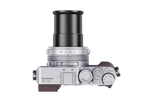 Panasonic Lumix DMC-LX100 Top