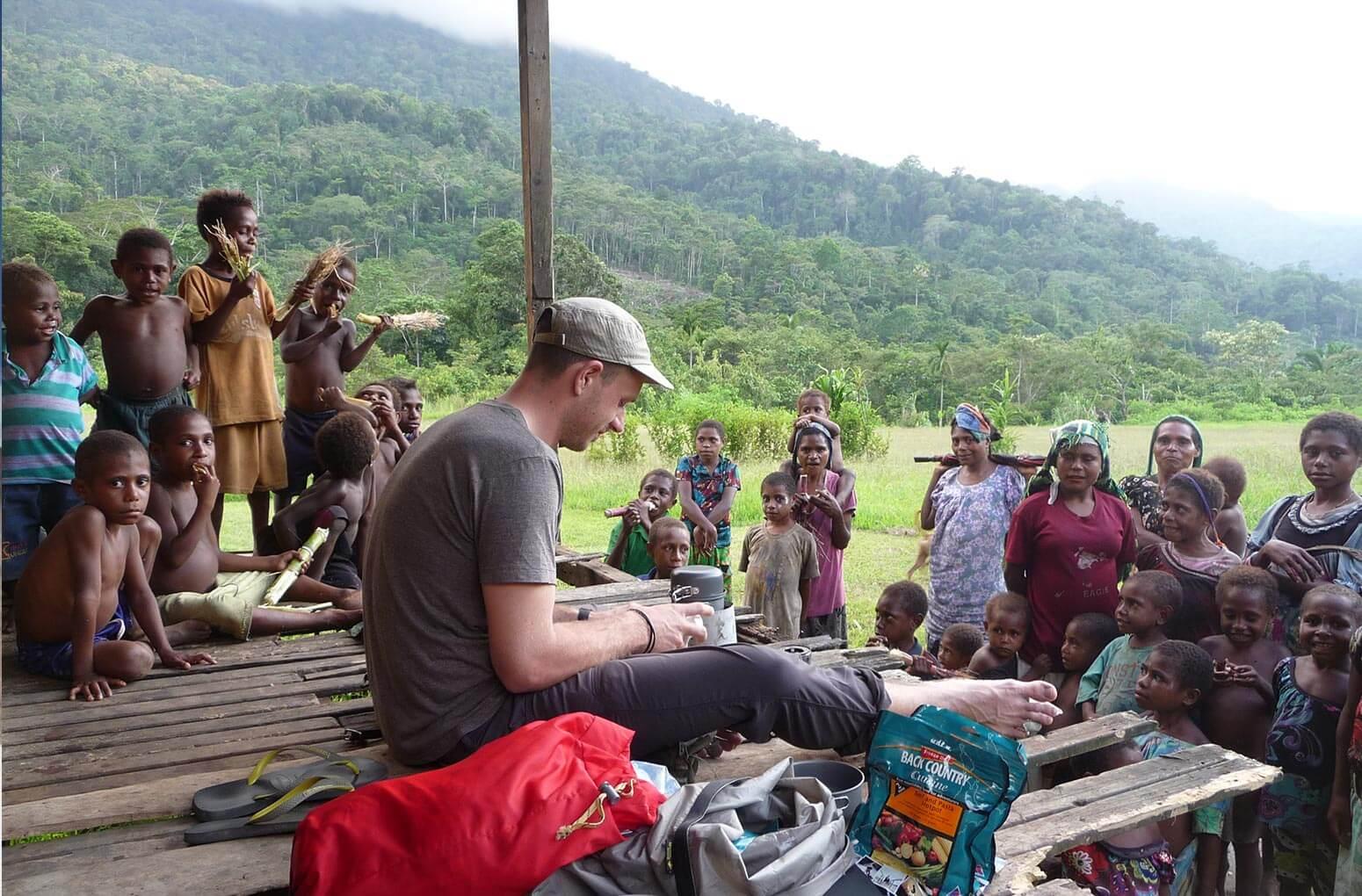 Kochen in Papua Neuguinea