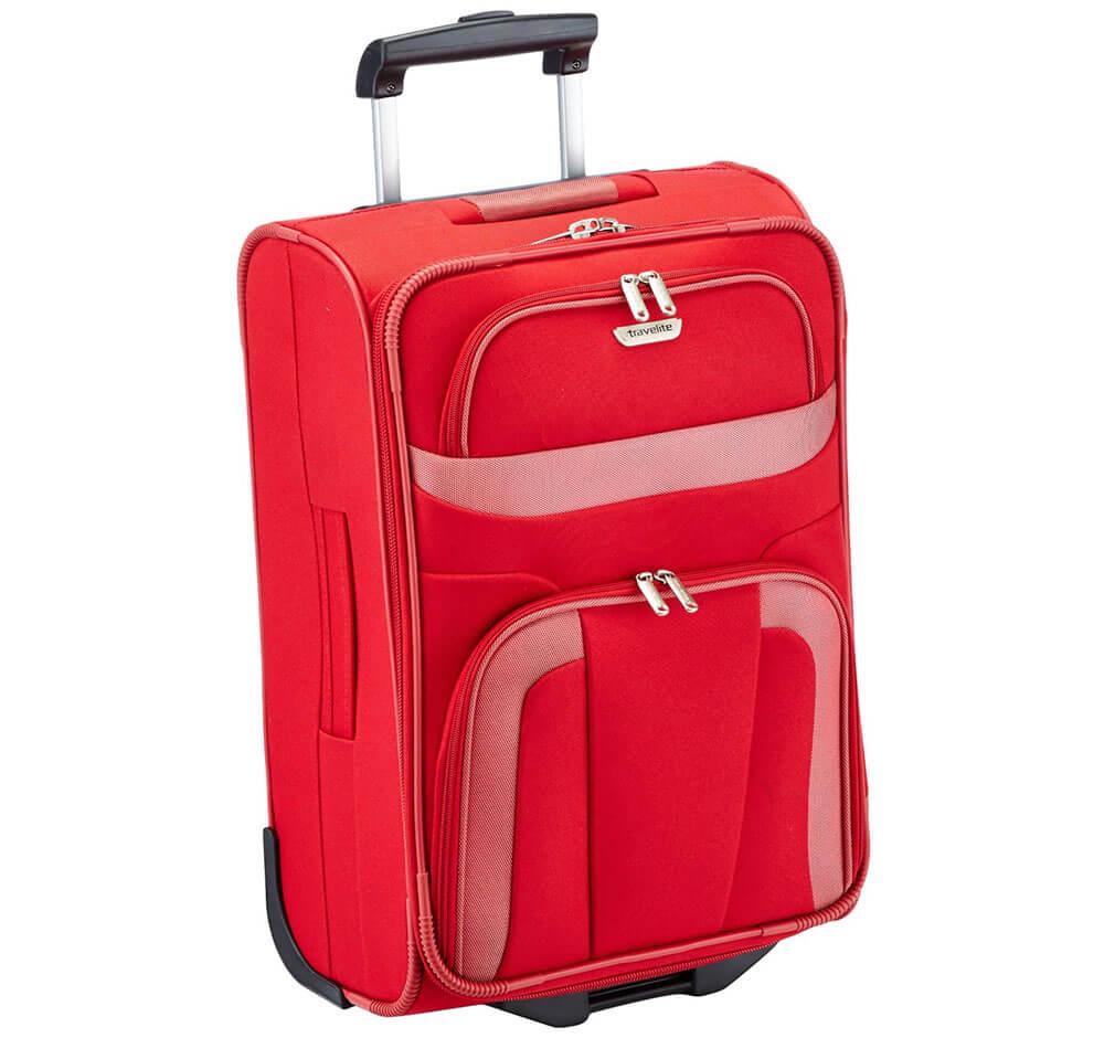 Reisetrolley Travelite rot