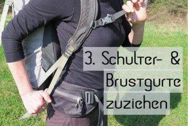 Rucksack Einstellen 3