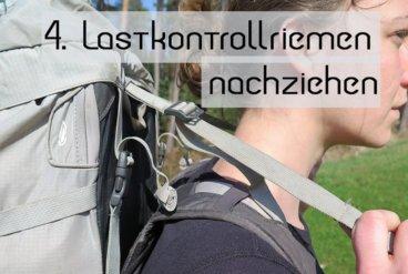 Rucksack Einstellen 4