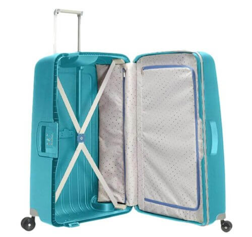Samsonite Scure Spinner offen