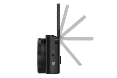 Sony DSC HX90 Klappdisplay