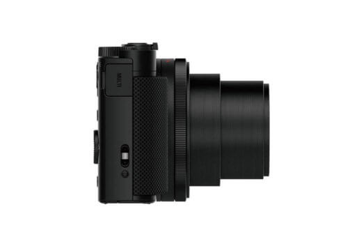Sony DSC HX90 Seitenansicht