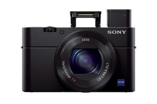 Sony DSC RX100 III flash