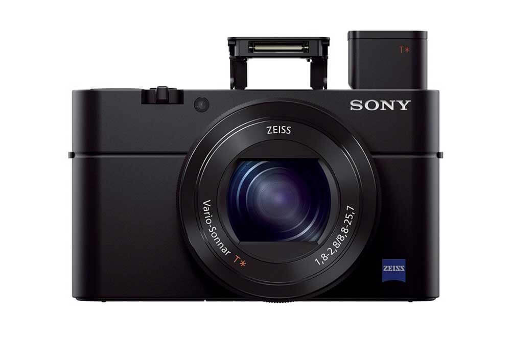 Sony DSC RX100 III flash