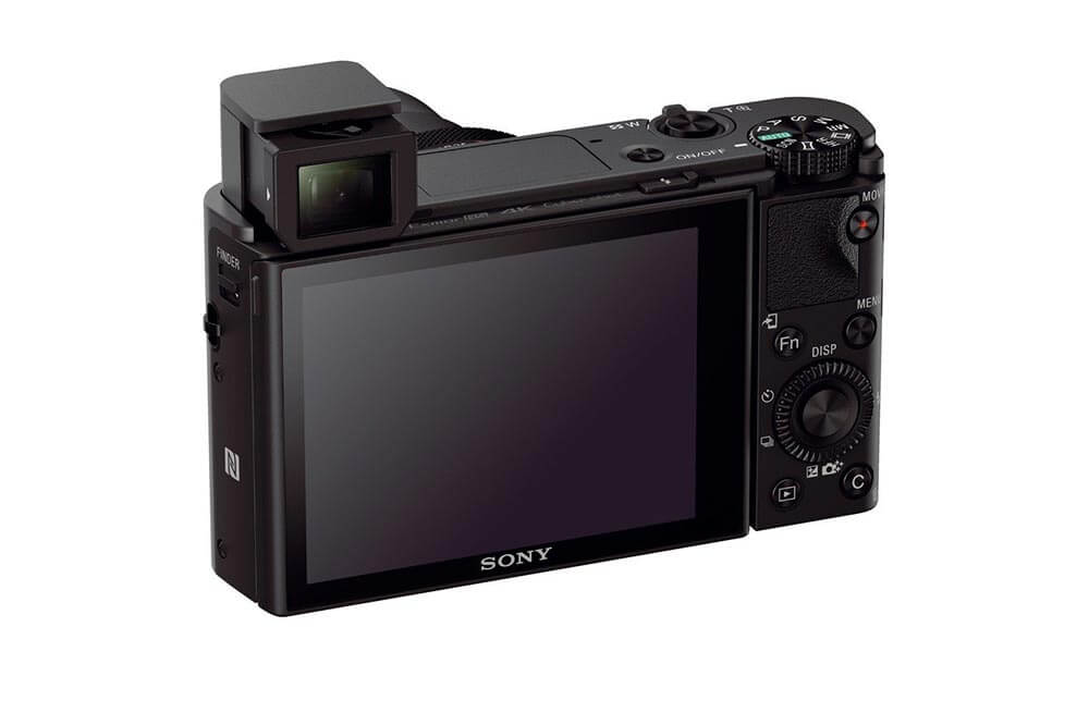 Sony DSC RC100 IV Back
