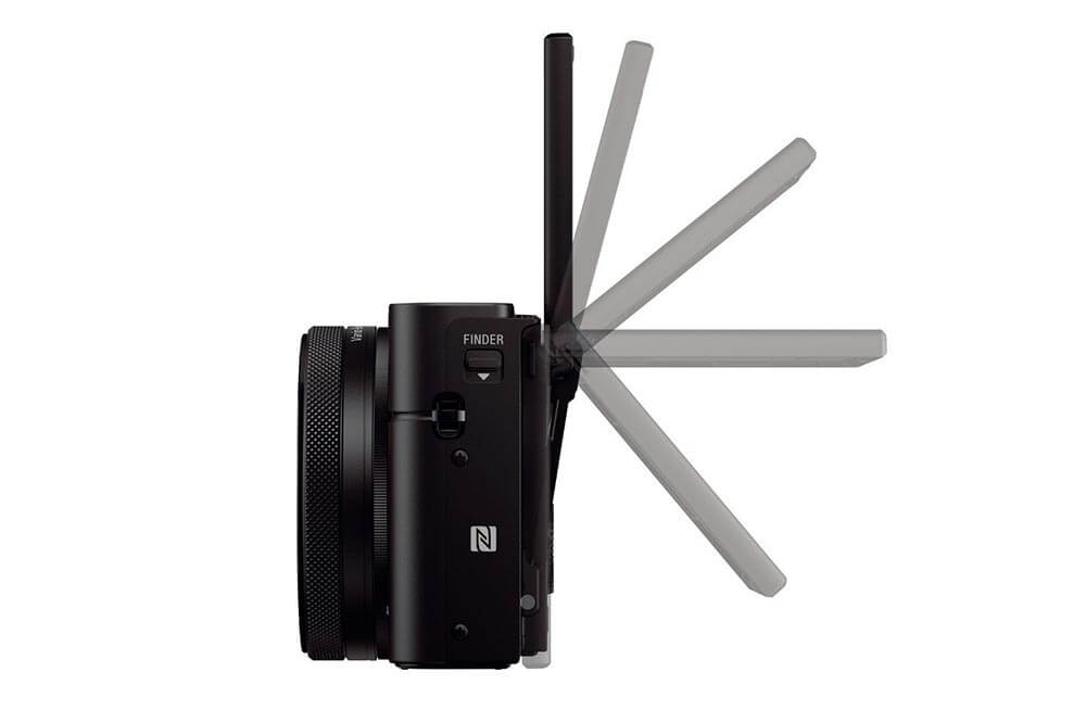 Sony DSC RC100 IV Display