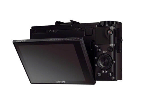 Sony Cyber-Shot DSC-RX100 II Back