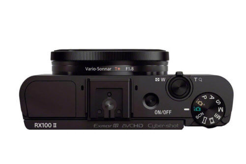 Sony Cyber-Shot DSC-RX100 II Top