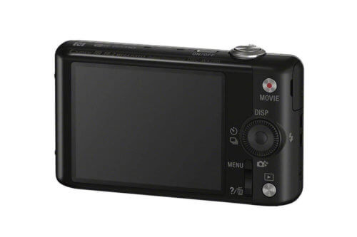 Sony DSC-WX220 Back