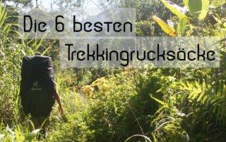 ratgeber trekkingrucksack vergleich trekking test