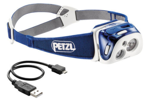 USB Stirnlampe Test