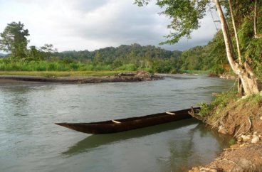 Fluss in Papua Neuguinea